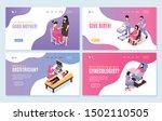women health four isolated... | Shutterstock .eps vector #1502110505