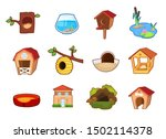 set of different objects  home...   Shutterstock .eps vector #1502114378