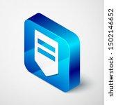 isometric chevron icon isolated ... | Shutterstock .eps vector #1502146652