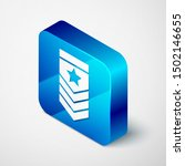 isometric chevron icon isolated ... | Shutterstock .eps vector #1502146655