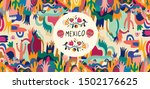 mexico vector illustration.... | Shutterstock .eps vector #1502176625
