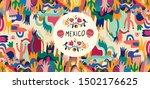 mexico vector illustration.... | Shutterstock .eps vector #1502176625