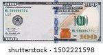 U.s. 100 Dollar Border With...
