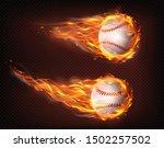 firing  flying engulfed in... | Shutterstock .eps vector #1502257502