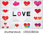 love heart | Shutterstock .eps vector #150228026