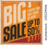 vintage promotional poster... | Shutterstock .eps vector #150229046