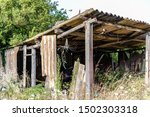 Abandoned Shed With Tools In...