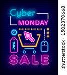 cyber monday sale vector ...   Shutterstock .eps vector #1502370668