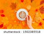 Autumn Flat Lay Composition...