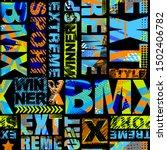 abstract seamless grunge... | Shutterstock .eps vector #1502406782