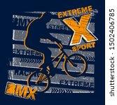 urban style modern t shirt ... | Shutterstock .eps vector #1502406785