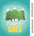 christmas sale banner and flyer ... | Shutterstock .eps vector #1502414102