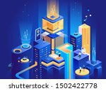 smart business platform... | Shutterstock .eps vector #1502422778