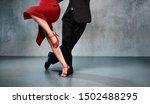 Feet Of Professional Tango...