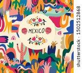 mexico vector illustration....   Shutterstock .eps vector #1502512868