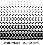 halftone triangle abstract... | Shutterstock .eps vector #1502556098