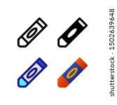 crayon logo icon design in four ...