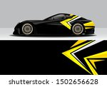 modern abstract vehicle wrap... | Shutterstock .eps vector #1502656628