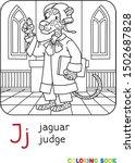Jaguar Judge Abc Coloring Book...