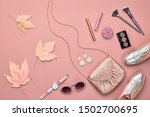 autumn arrives. fall fashion... | Shutterstock . vector #1502700695