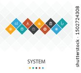 system trendy ui template...