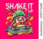 milkshake illustration tee... | Shutterstock .eps vector #1502771648