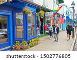 bar harbor  maine usa  ... | Shutterstock . vector #1502776805