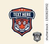 tiger retro vintage patch badge ... | Shutterstock .eps vector #1502823932