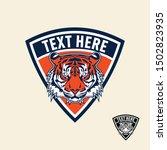 tiger retro vintage patch badge ... | Shutterstock .eps vector #1502823935