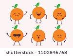 cute orange fruit character in...   Shutterstock .eps vector #1502846768