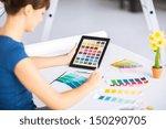 interior design  renovation and ...   Shutterstock . vector #150290705
