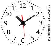 antique clock.  image of clock... | Shutterstock .eps vector #150292478