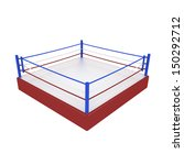 boxing ring | Shutterstock . vector #150292712