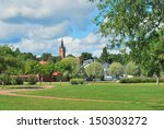 finland. beautiful town of... | Shutterstock . vector #150303272