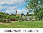 finland. beautiful town of... | Shutterstock . vector #150303272