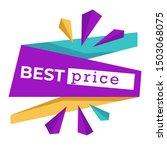 sale or best price badges or... | Shutterstock .eps vector #1503068075