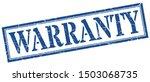 warranty stamp. warranty square ...   Shutterstock .eps vector #1503068735