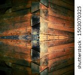 Closeup Of Wood Grain And Cut...