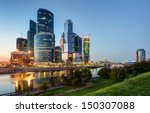 Skyscrapers Of Moscow City At...
