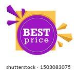 price tag logo  shopping... | Shutterstock .eps vector #1503083075