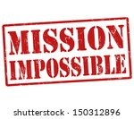 mission impossible grunge... | Shutterstock .eps vector #150312896
