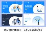 set of creative website...   Shutterstock .eps vector #1503168068