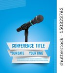 conference template... | Shutterstock .eps vector #150323762