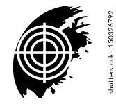 target black icon | Shutterstock .eps vector #150326792