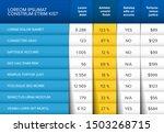 multipurpose table layout... | Shutterstock .eps vector #1503268715