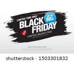 black friday sale banner layout ...   Shutterstock .eps vector #1503301832