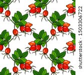 vector seamless pattern with...   Shutterstock .eps vector #1503306722