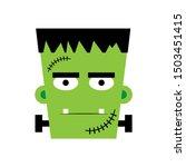 Halloween Boy Frankenstein...