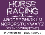 font alphabet script typeface...   Shutterstock .eps vector #1503485978