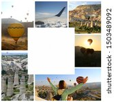 Travel Collage Of Cappadocia....